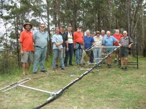 WICEN Repeater/operations team, Mt. Kandanga, International Rally of Queensland 2007.