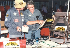 David VK4AFA and Manfred VK4KHW - BARCFest approx 1990